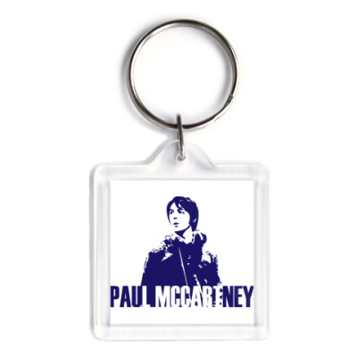 Брелок  3,9x3,9 Paul McCartney