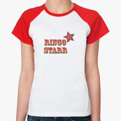 Женская футболка реглан Ringo