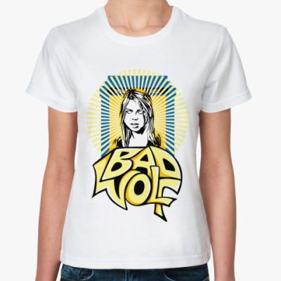 Классическая футболка BAD WOLF