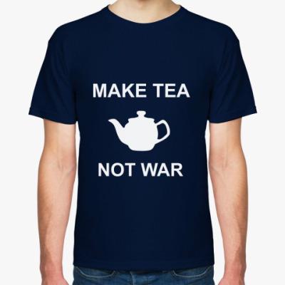 Футболка Make Tea Not War