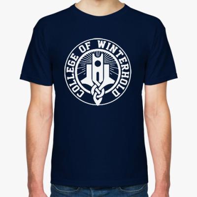 Футболка Skyrim . College of Winterhold