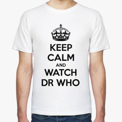 Футболка KEEP CALM and WATCH DOCTOR WHO