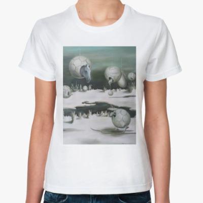 Классическая футболка Футбол и вечность