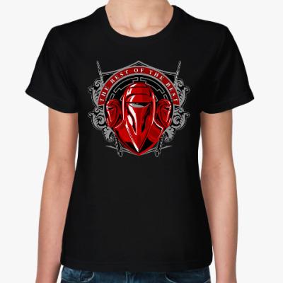 Женская футболка Гвардия Императора