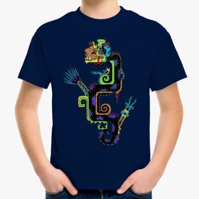 Детская футболка Кетцальтоатль