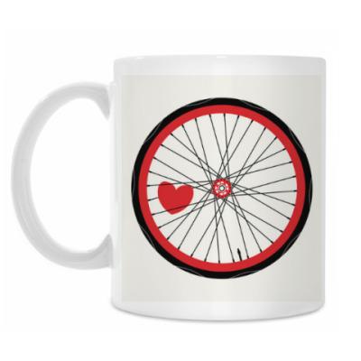 Кружка heart wheel