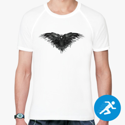 Спортивная футболка Игра Престолов: Ворон