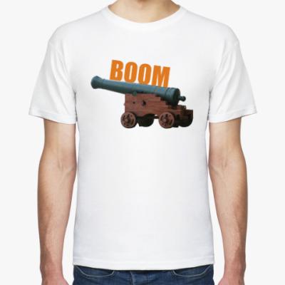 Футболка Пушка (boom)