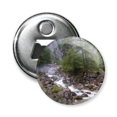 Магнит-открывашка Горная речка, Абхазия
