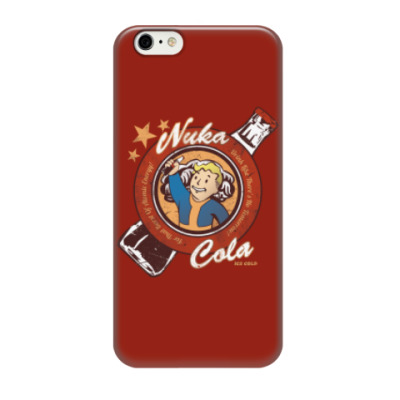 Чехол для iPhone 6/6s Fallout Nuka Cola Vault Boy