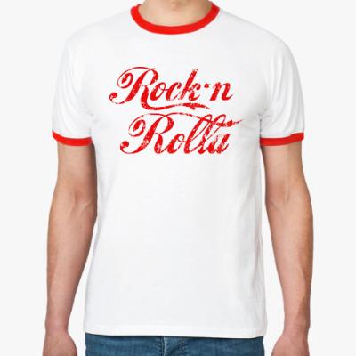 Футболка Ringer-T RocknRolla