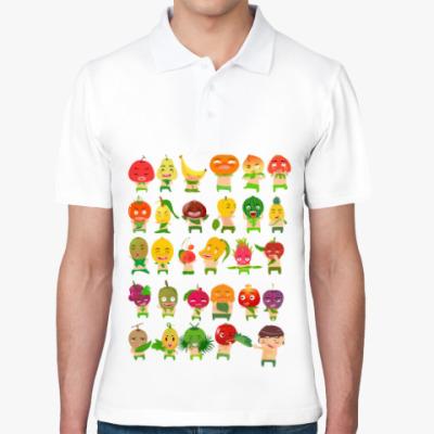 Рубашка поло Фрукты, Овощи и Ягоды