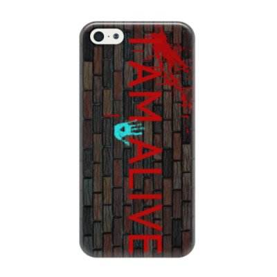 Чехол для iPhone 5/5s Detroit 'I am alive'