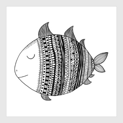 Постер Рыба моя