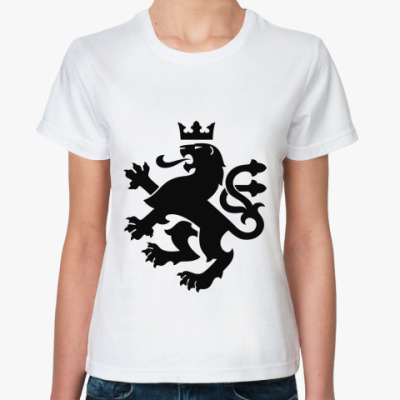 Классическая футболка геральдика