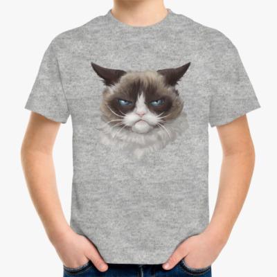 Детская футболка Grumpy Cat / Сердитый Кот