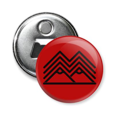 Магнит-открывашка Символ Твин Пикс Twin Peaks