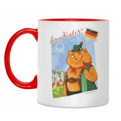 Кружка Кот из Германии