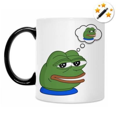 Кружка-хамелеон Pepe Frog