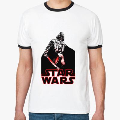 Футболка Ringer-T Darth Vader (Дарт Вейдер)