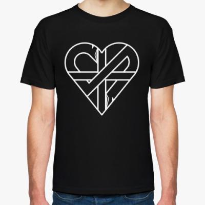 Футболка Crass 'Heart'