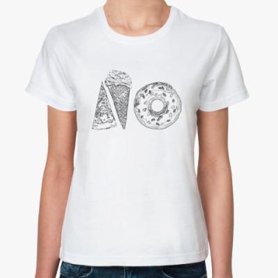 Классическая футболка No Питание