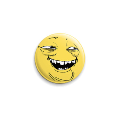 Значок 25мм ПеКа (PeKa) face