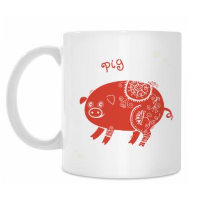 Кружка Red Pig