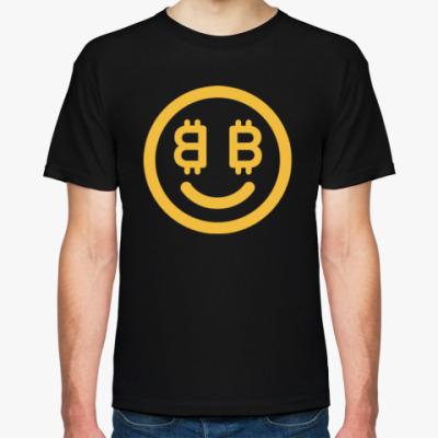 Футболка Bitcoin Smile