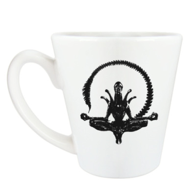 Чашка Латте Чужой