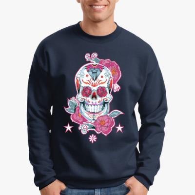 Свитшот Flower skull