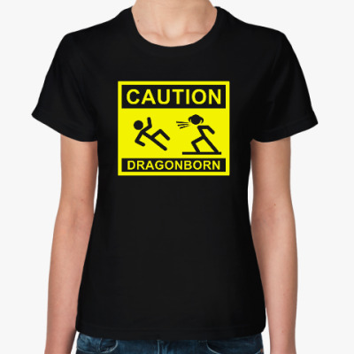 Caution ! Dragonborn . Skyrim