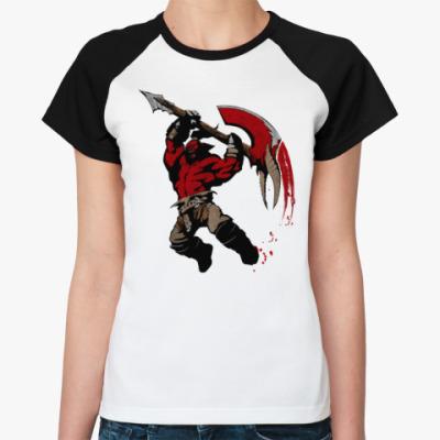 Женская футболка реглан Axe