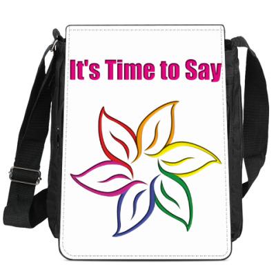 Сумка-планшет It's Time to Say
