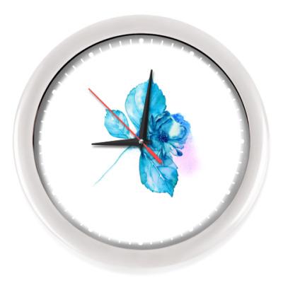 Настенные часы Нежный цветок