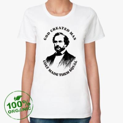 Женская футболка из органик-хлопка Кольт