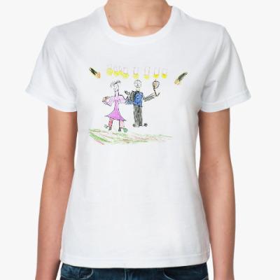 Классическая футболка Дискотека