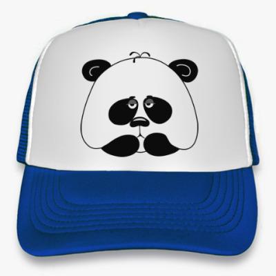 Кепка-тракер Грустная панда