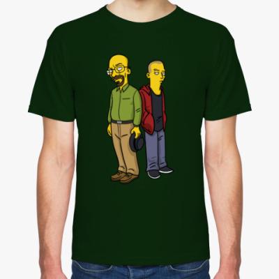 Футболка Breaking Bad Simpsons