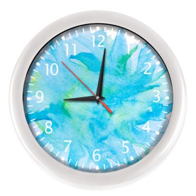 Настенные часы Время бирюзы