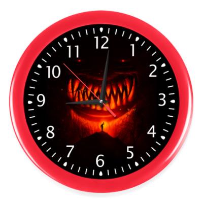 Настенные часы Монстр