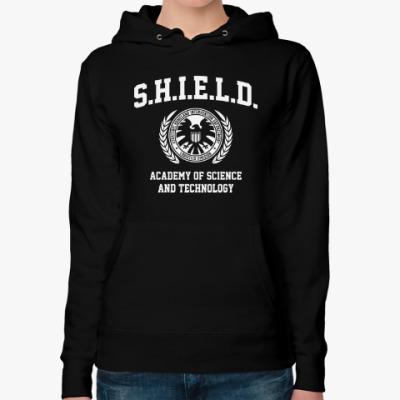 Женская толстовка худи S.H.I.E.l.D. Academy