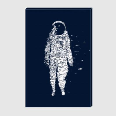 Холст Космонавт