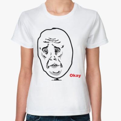 Классическая футболка Okay