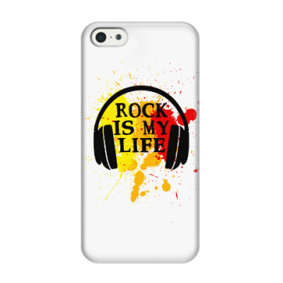 Чехол для iPhone 5/5s Rock is my life