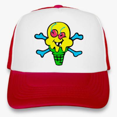 Кепка-тракер Ice Cream Skull