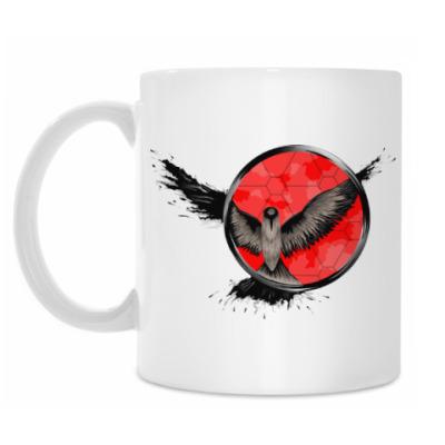 Кружка сова ловец снов