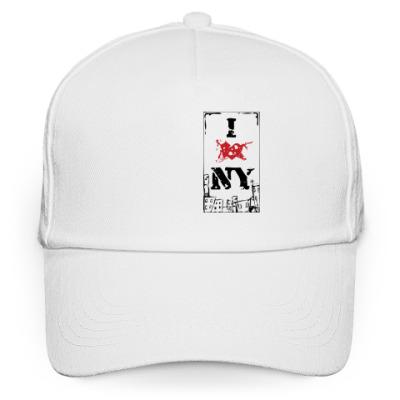 Кепка бейсболка I Love NY