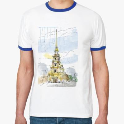 Футболка Ringer-T Петропавловская крепость