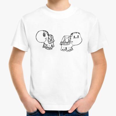 Детская футболка Черепашки